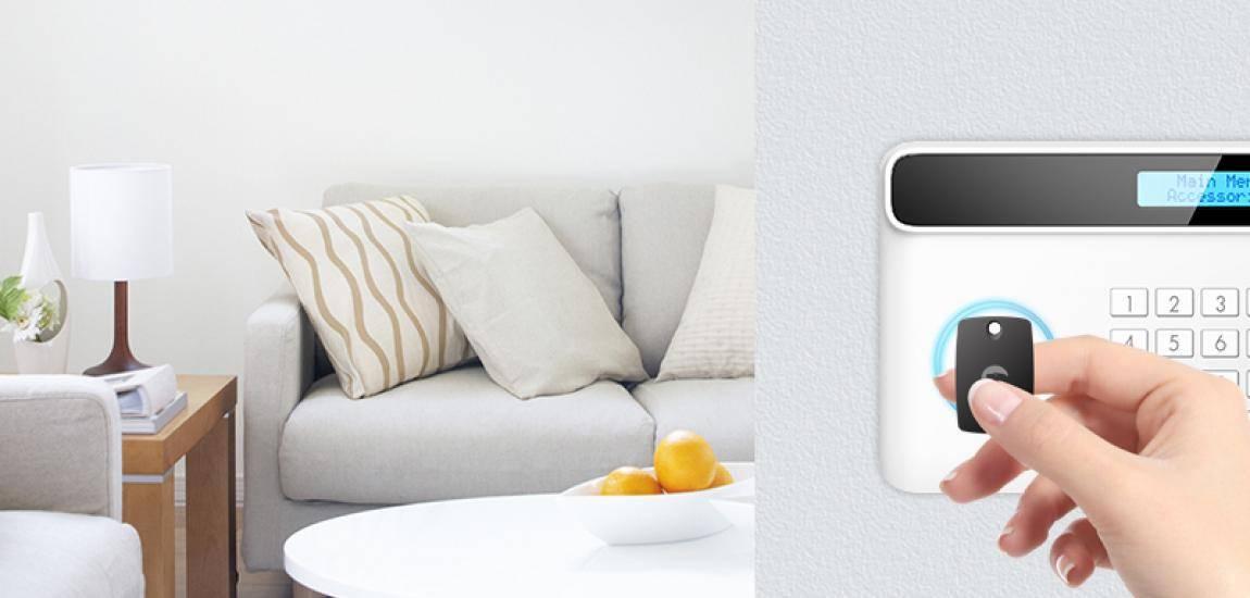 2 x ES-T1A RFID Tag pour les alarmes de la marque eTIGER désarmez votre alarme